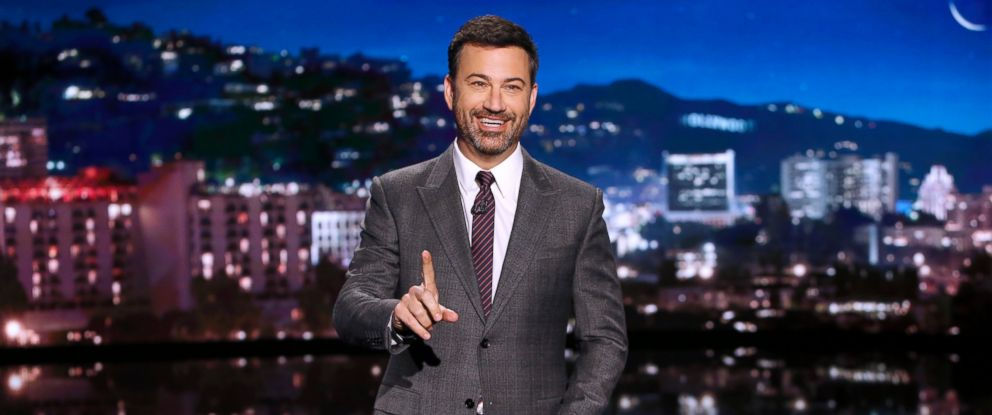 """PHOTO: Jimmy Kimmel is pictured on """"Jimmy Kimmel Live,"""" Oct. 10, 2016."""