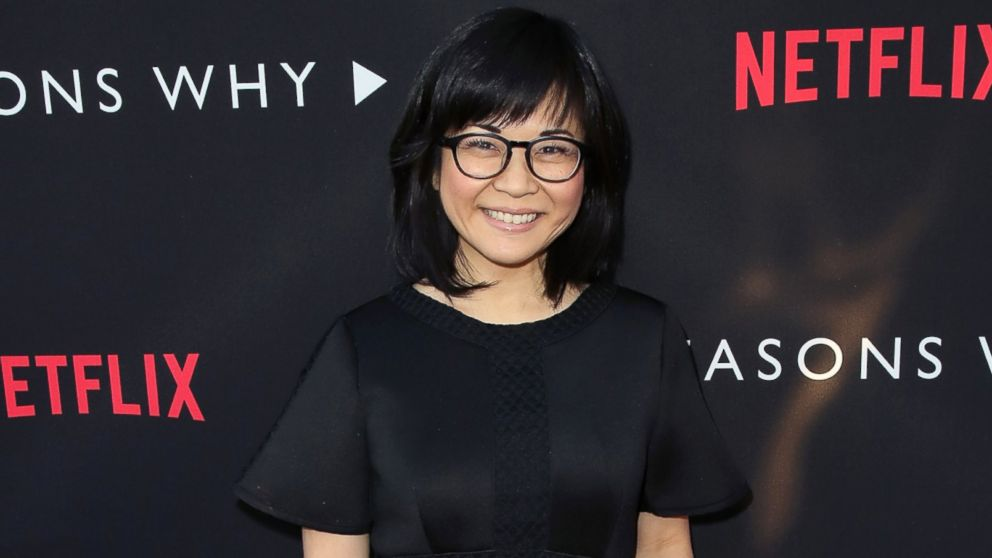 "Keiko Agena attends the premiere of Netflix's ""13 Reasons Why"" at Paramount Pictures, March 30, 2017 in Los Angeles."