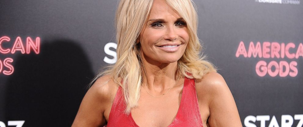 """PHOTO: Kristin Chenoweth attends the premiere of """"American Gods,"""" April 20, 2017, in Hollywood, Calif."""