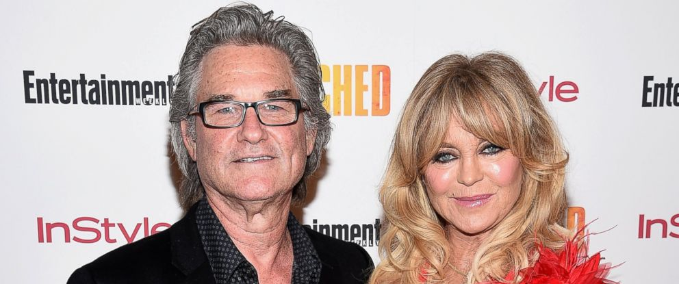 "PHOTO: Kurt Russell and Goldie Hawn attend the ""Snatched"" New York Premiere at the Whitby Hotel, May 2, 2017, in New York City."