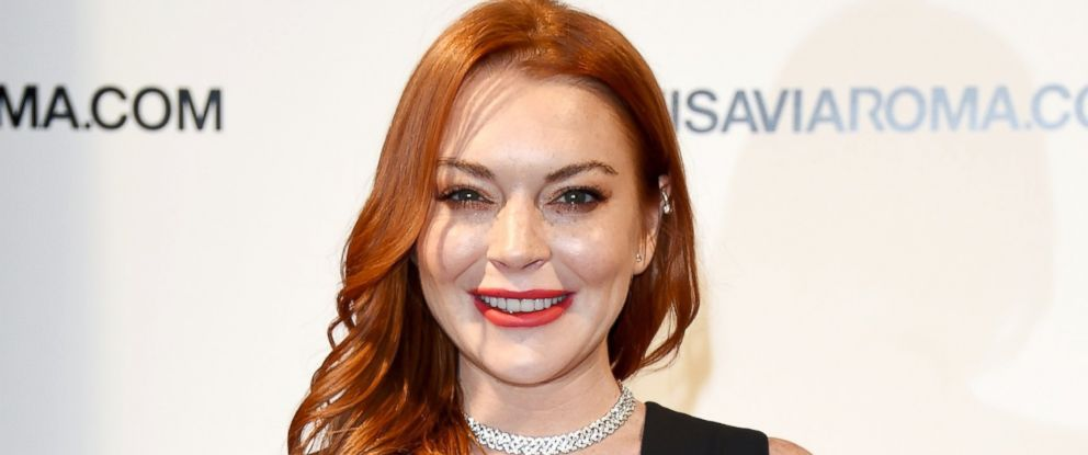 PHOTO: Lindsay Lohan walks the red carpet of Firenze4ever 14th Edition Party hosted by LuisaViaRoma, Jan. 9, 2017, in Florence, Italy.