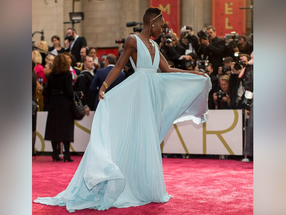 PHOTO: Lupita Nyongo attends the Oscars at Hollywood & Highland Center, March 2, 2014 in Hollywood, California.