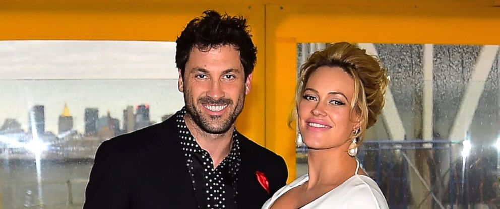 PHOTO: Maksim Chmerkovskiy and Peta Murgatroyd are seen here, Dec. 18, 2016, in Brooklyn, New York.