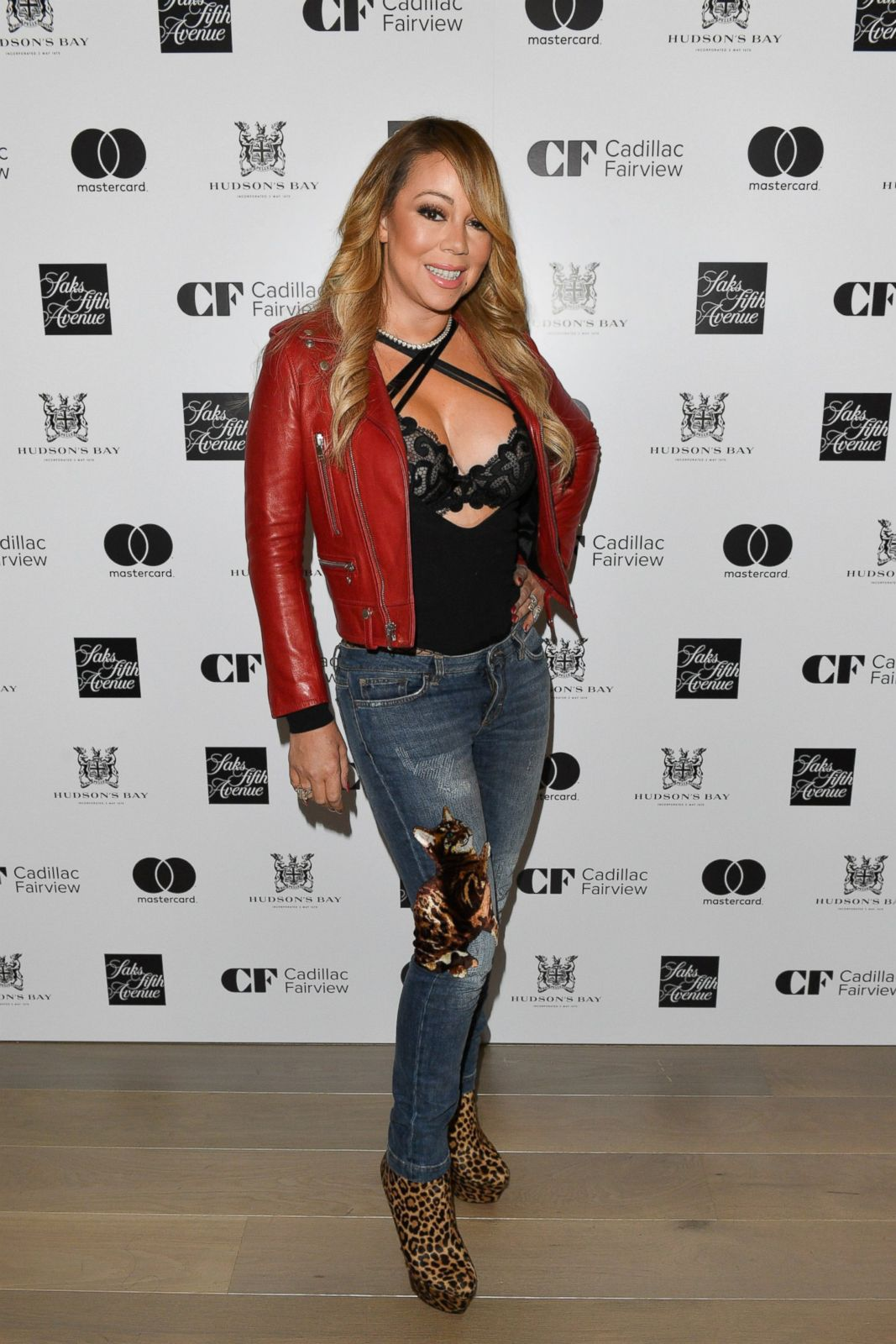 Mariah Has A Night Out With Her Twins Picture Mariah Carey Through The Years Abc News