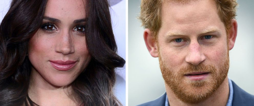PHOTO: Meghan Markle and Prince Harry are seen here.