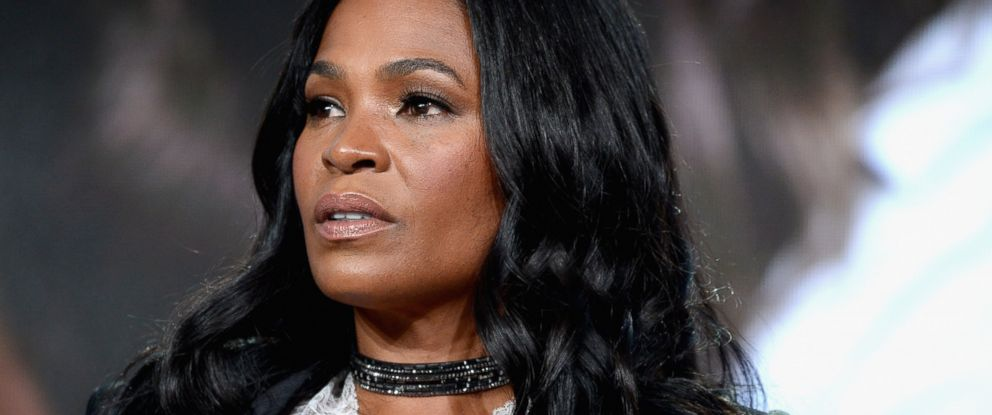 """PHOTO: Nia Long of the series """"Beaches"""" speaks onstage during the Lifetime portion of the 2017 Winter Television Critics Association Press Tour at Langham Hotel, Jan. 13, 2017, in Pasadena, California."""