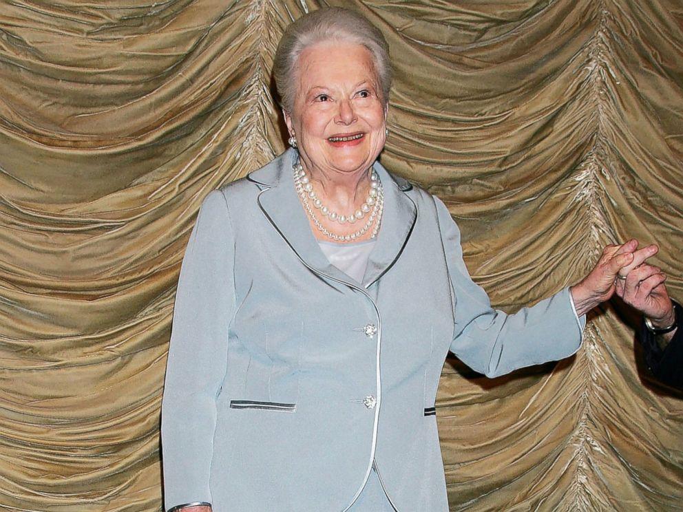 PHOTO: Screen legend Olivia de Havilland, June 18, 2006, in Los Angeles.