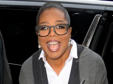 Oprah Flashes Her Signature Smile
