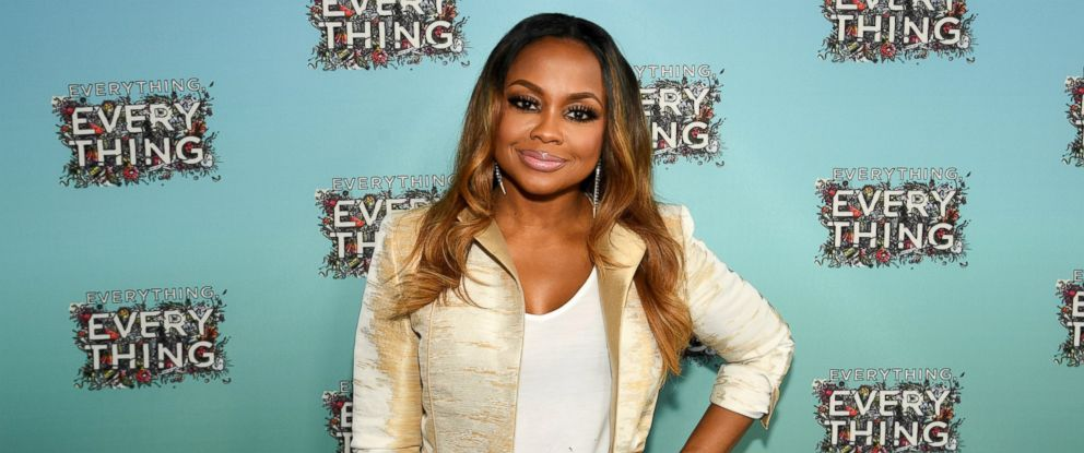 "PHOTO: Phaedra Parks attends ""Everything, Everything"" screening and brunch at W Hotel Atlanta Midtown, April 23, 2017, in Atlanta, Georgia."