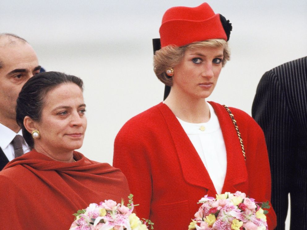 PHOTO: Diana, Princess of Wales, arrives at the Orly airport during her official visit to France on Nov. 7, 1988, in Paris.