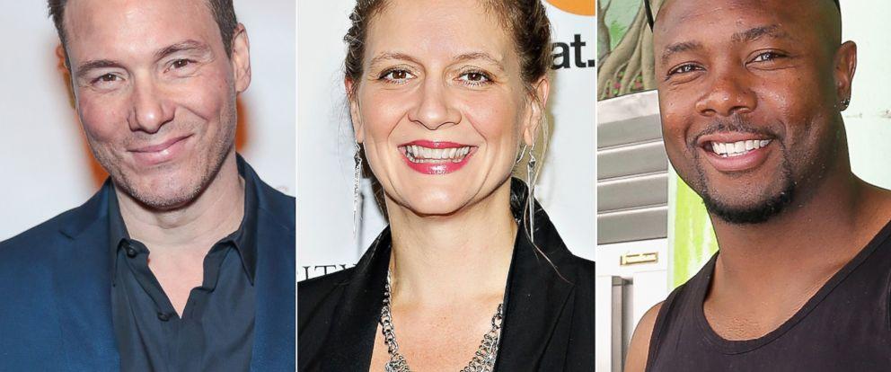 PHOTO: (L-R) Rocco Dispirito in New York City, Nov. 3, 2016, Amanda Freitag in New York City, Oct. 17, 2013 and Eddie Jackson in Miami, Feb. 27, 2016.