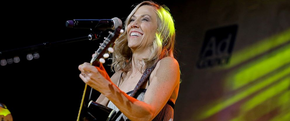 PHOTO: Sheryl Crow performs during the 63rd Annual Ad Council Public Service Award Dinner at The Waldorf Astoria, Nov. 16, 2016, in New York City.