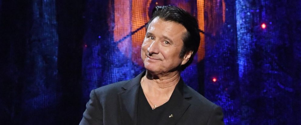 PHOTO: 2017 Inductee Steve Perry of Journey speaks onstage at the 32nd Annual Rock & Roll Hall Of Fame Induction Ceremony at Barclays Center, April 7, 2017, in New York City.