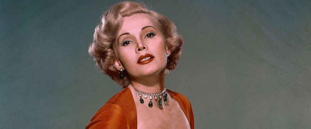 PHOTO: Zsa Zsa Gabor is seen here between 1950 and 1955.