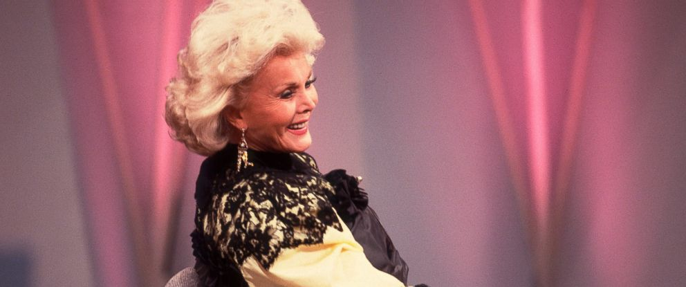 PHOTO: Hungarian-born American actress Zsa Zsa Gabor appears on an episode of the Oprah Winfrey Show in Chicago, Nov. 1, 1988.