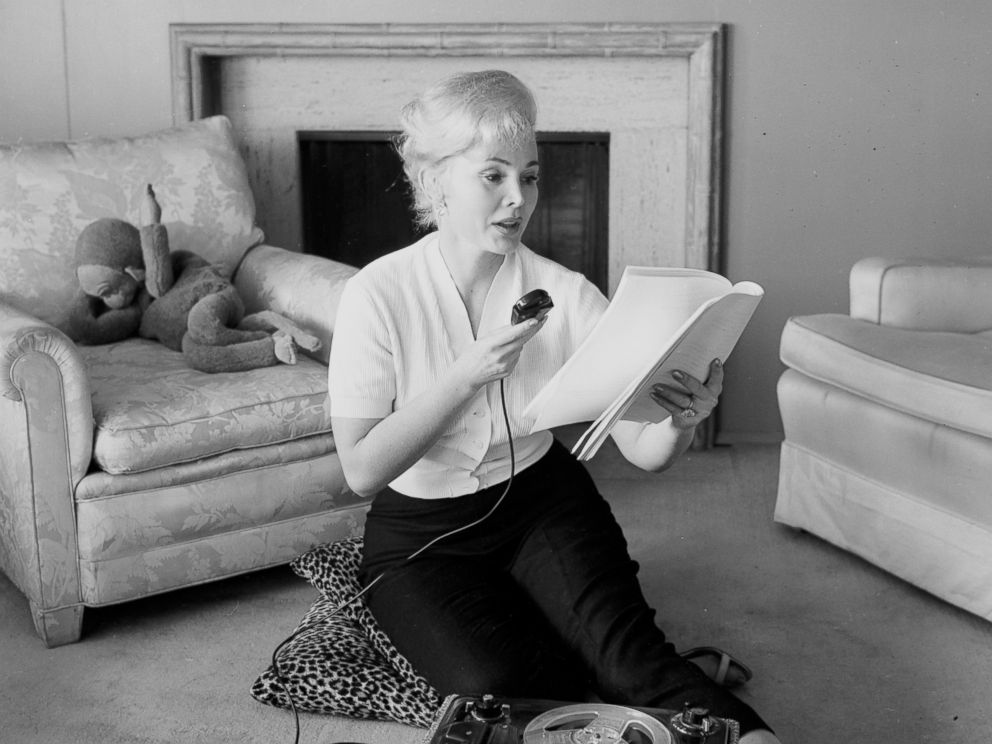 PHOTO: Actress Zsa Zsa Gabor poses during a photo shoot at home in Los Angeles, March 23, 1956.