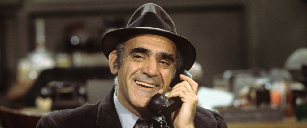 "PHOTO: Abe Vigoda is pictured in the ""Smog Alert"" episode of ""Barney Miller"" on Jan. 6, 1977."