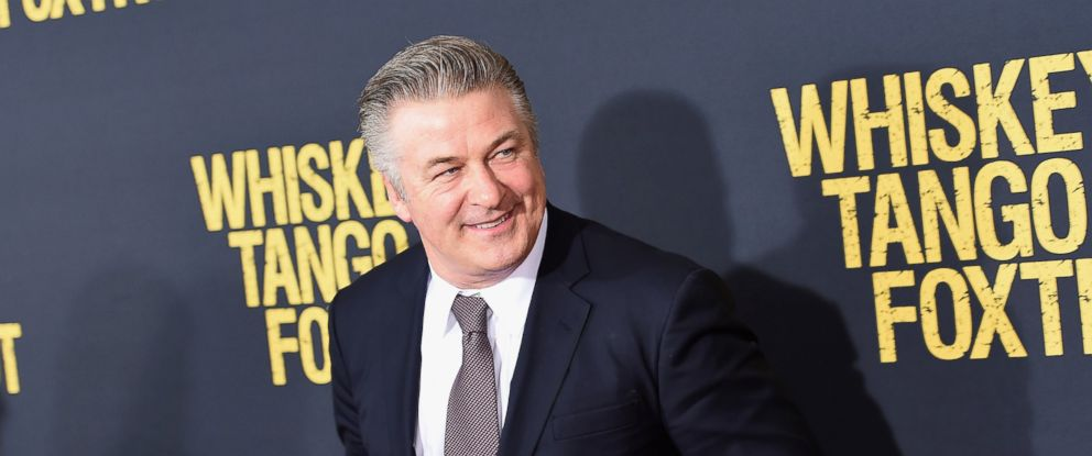 """PHOTO: Alec Baldwin attends the """"Whiskey Tango Foxtrot"""" world premiere at AMC Loews Lincoln Square 13 theater on March 1, 2016 in New York."""