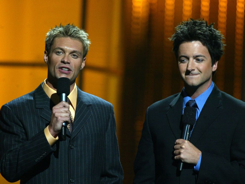 PHOTO: Brian Dunkleman co-hosted season 1 of America Idol alongside Ryan Seacrest.
