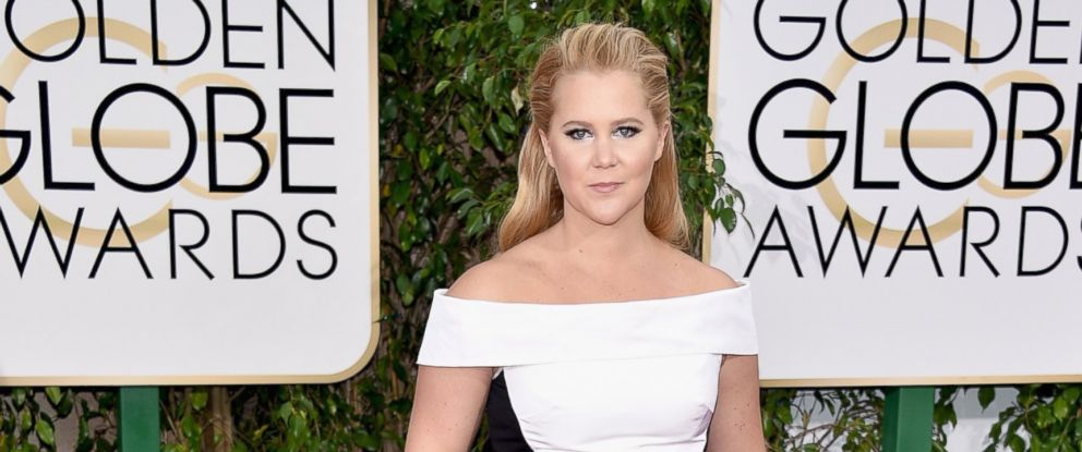 PHOTO: Actress Amy Schumer attends the 73rd Annual Golden Globe Awards held at the Beverly Hilton Hotel, Jan. 10, 2016, in Beverly Hills, Calif.
