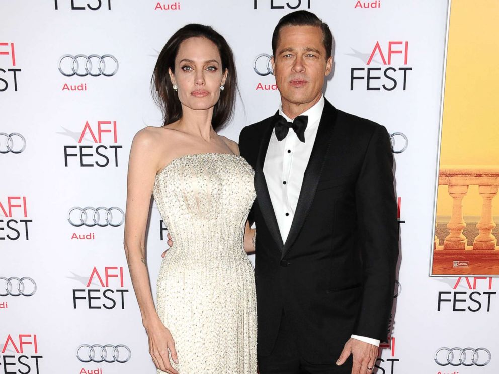 Angelina Jolie and Brad Pitt attend the premiere of By the Sea at the 2015 AFI Fest at TCL Chinese 6 Theatres Nov. 5 2015 in Hollywood Calif
