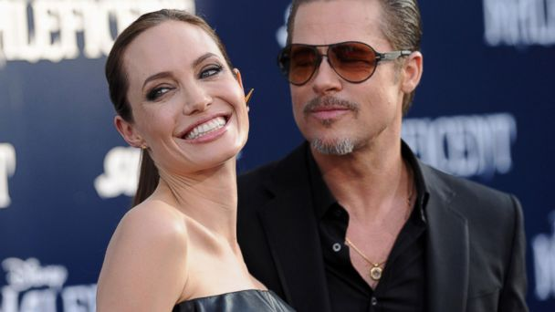 PHOTO: Actors Angelina Jolie and Brad Pitt arrive at the World Premiere of Disneys Maleficent at the El Capitan Theatre, May 28, 2014, in Hollywood, Calif.