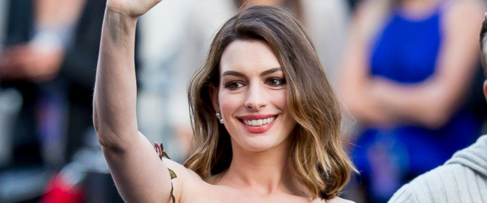 "PHOTO: Anne Hathaway is seen attending the premiere of Disneys ""Alice Through The Looking Glass,"" May 23, 2016, in Los Angeles."