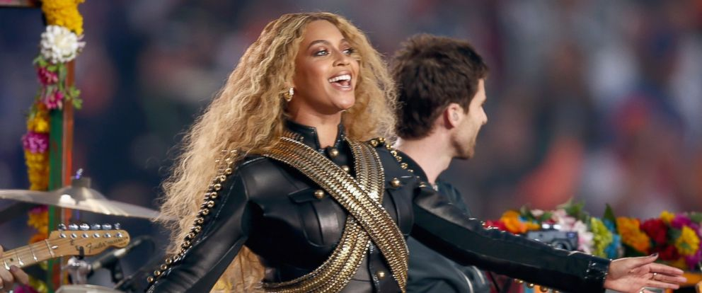 PHOTO: Beyonce performs onstage during the Pepsi Super Bowl 50 Halftime Show at Levis Stadium on Feb. 7, 2016, in Santa Clara, California.
