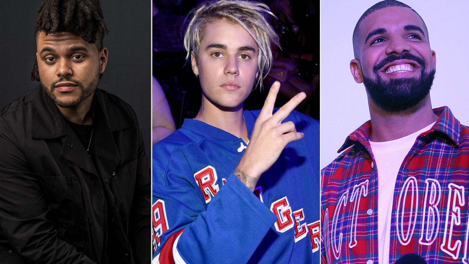 Billboard Music Awards 2016: The Weeknd, Justin Bieber and Drake Among Top  Finalists - ABC News