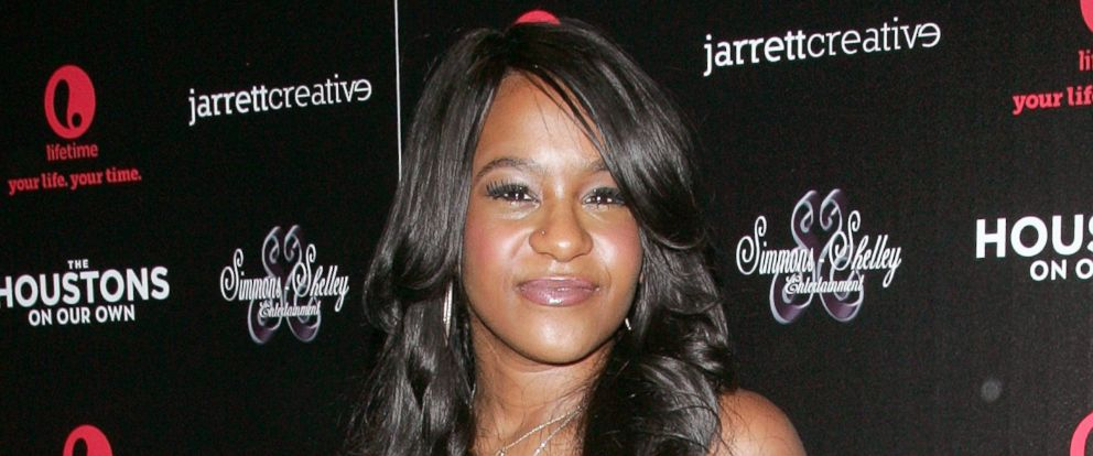 """PHOTO: Bobbi Kristina Brown in this Oct. 2012 file photo when she attended """"The Houstons: On Our Own"""" Series Premiere Party at Tribeca Grand Hotel in New York City."""