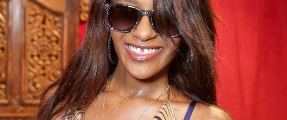 PHOTO: Bobbi Kristina Brown wears Carrera by Jimmy Choo sunglasses with the Solstice Sunglasses and Safilo USA display at the GRAMMY Gift Lounge during the 56th GRAMMY Awards at Staples Center, Jan. 25, 2014, in Los Angeles.