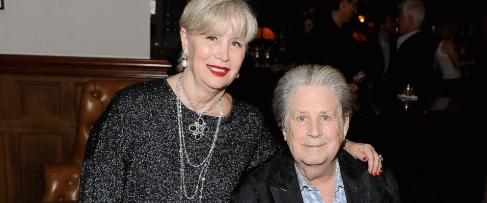 PHOTO: Melinda Wilson and Brian Wilson at the Love & Mercy world premiere party, Sept. 7, 2014, in Toronto.