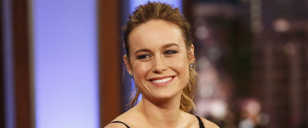 "PHOTO: Brie Larson on ""Jimmy Kimmel Live,"" Feb. 8, 2016."