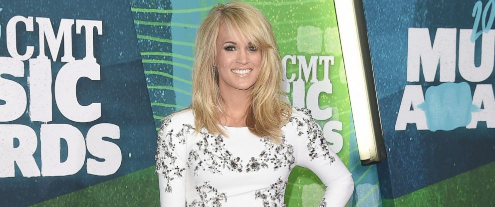 PHOTO: Singer Carrie Underwood attends the 2015 CMT Music awards at the Bridgestone Arena, June 10, 2015, in Nashville, Tenn.
