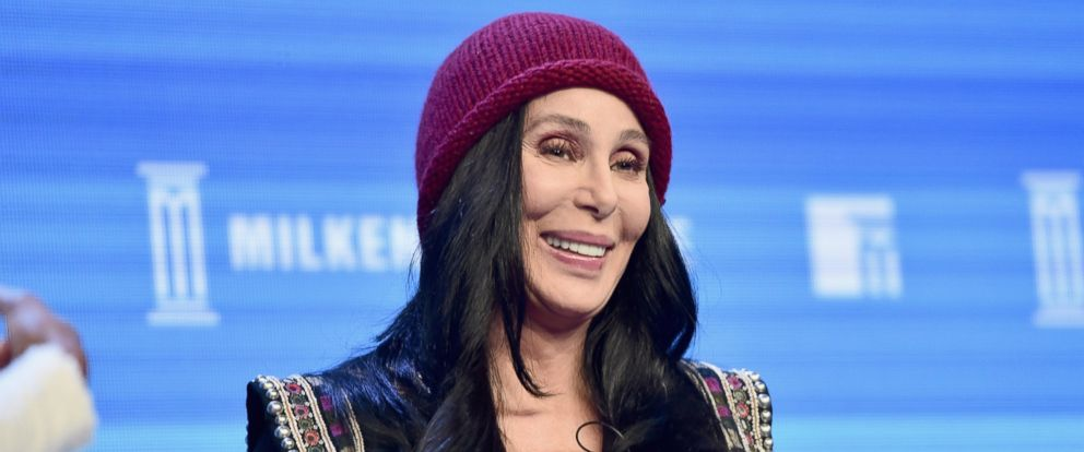 PHOTO: Cher speaks onstage during the 2016 Milken Institute Global Conference at The Beverly Hilton on May 03, 2016 in Beverly Hills, California.
