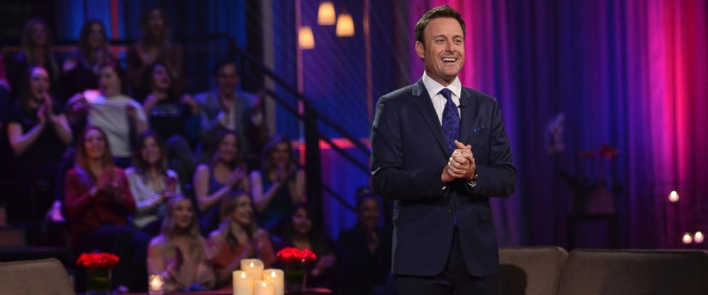 "PHOTO: Chris Harrison hosting The Bachelor, ""The Women Tell All."""