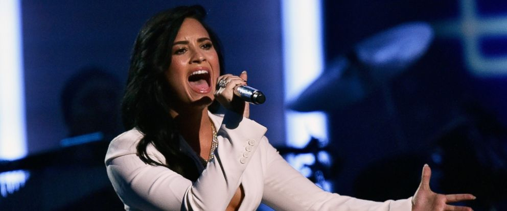 PHOTO: Singer Demi Lovato performs onstage during The 58th GRAMMY Awards at Staples Center on Feb. 15, 2016, in Los Angeles.