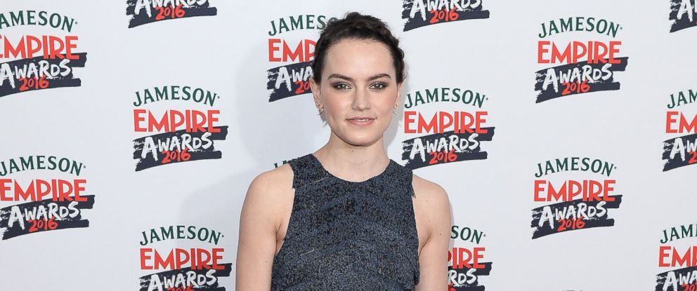 PHOTO: Daisy Ridley attends the Jameson Empire Awards 2016 at The Grosvenor House Hotel, March 20, 2016, in London.