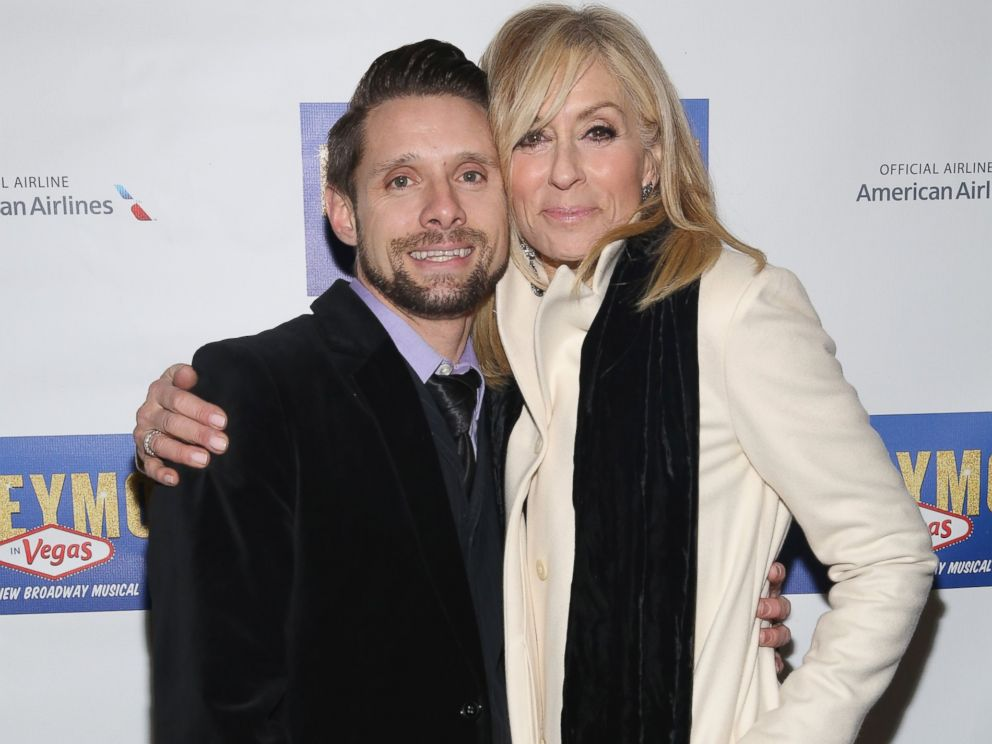 PHOTO: Danny Pintauro and Judith Light attend Honeymoon In Vegas Broadway Opening Night at Nederlander Theatre, Jan. 15, 2015, in New York.