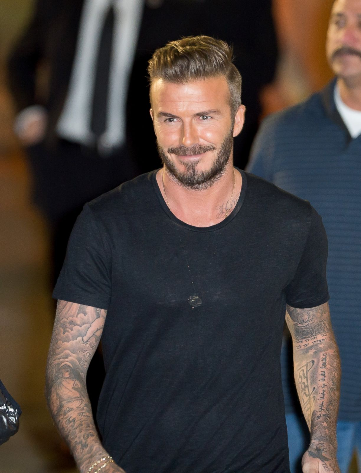David Beckham Picture January Top Celebrity Pictures Abc News
