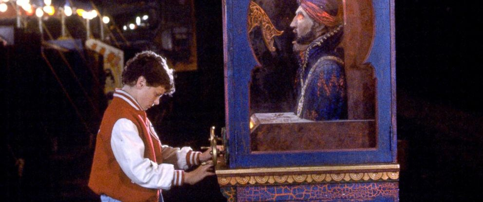 PHOTO:David Moscow, as young Josh Baskin, makes a wish at an arcade fortune teller machine in a scene from the film Big.