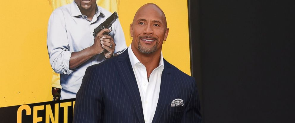 PHOTO: Actor Dwayne Johnson attends the premiere of Warner Bros. Pictures Central Intelligence at Westwood Village Theatre, June 10, 2016, in Westwood, California.
