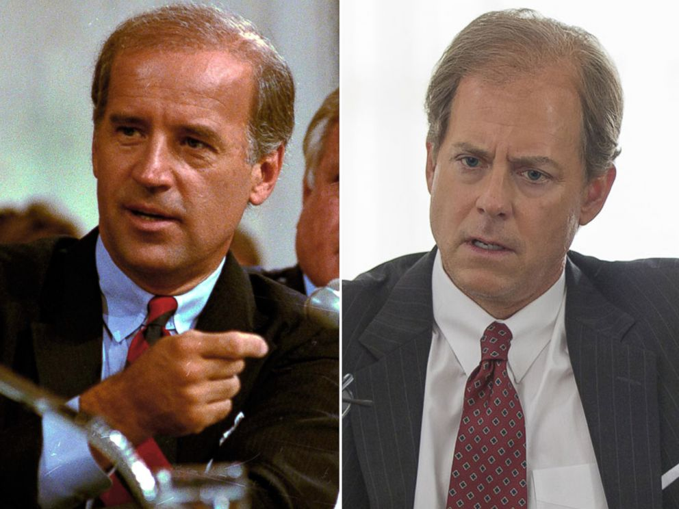 PHOTO: Joseph Biden is played by Greg Kinnear in HBOs film, Confirmation.