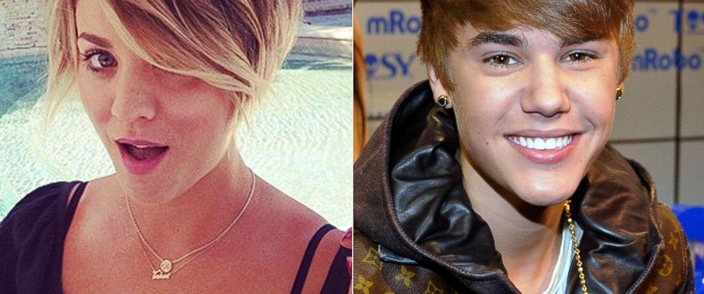 Big Bang Theory Star Kaley Cuoco Sweeting Do I Look Like Justin