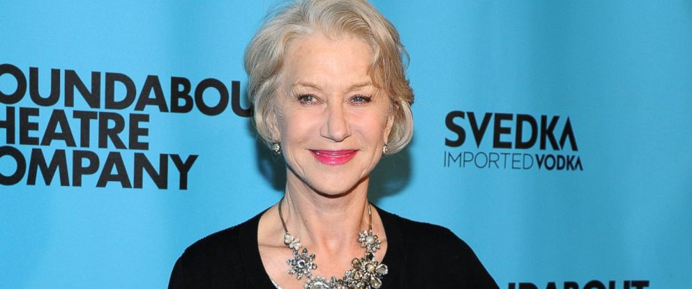 PHOTO: Actress Helen Mirren attends Roundabout Theatre Companys 2014 Spring Gala at Hammerstein Ballroom, March 10, 2014, in New York.