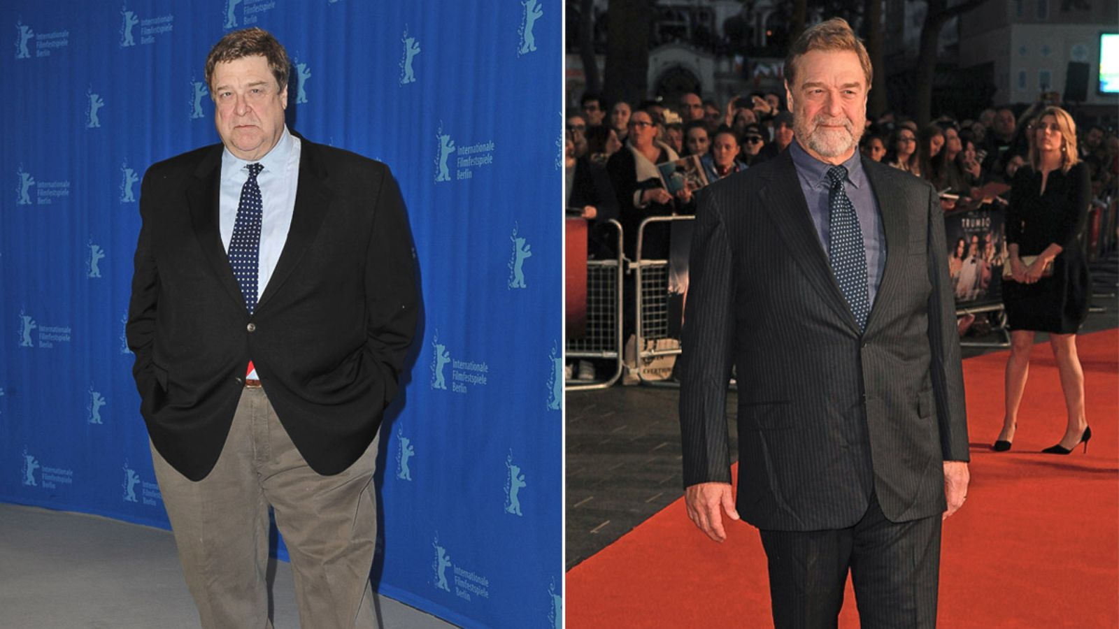 John Goodman Shows Off Shocking Weight Loss - ABC News