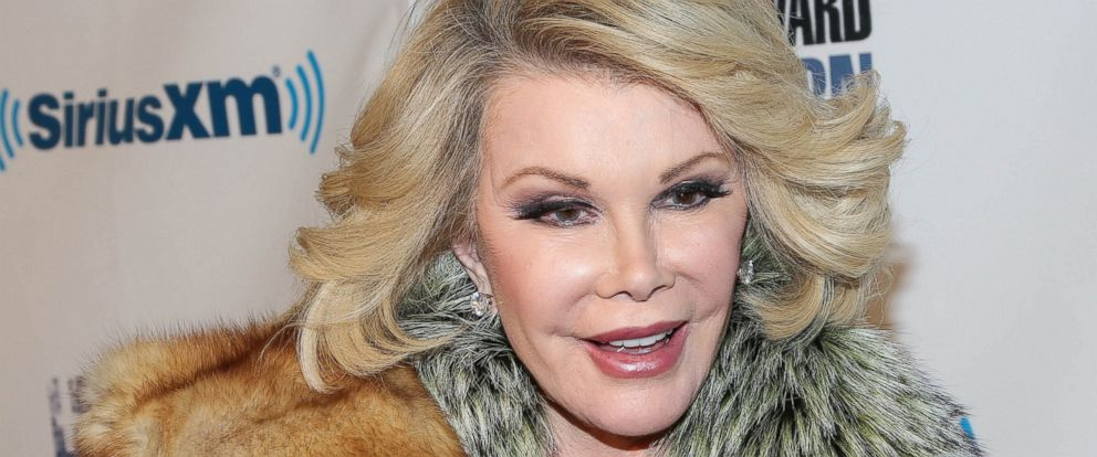 PHOTO: Joan Rivers attends SiriusXMs Howard Stern Birthday Bash at Hammerstein Ballroom on Jan. 31, 2014 in New York City.