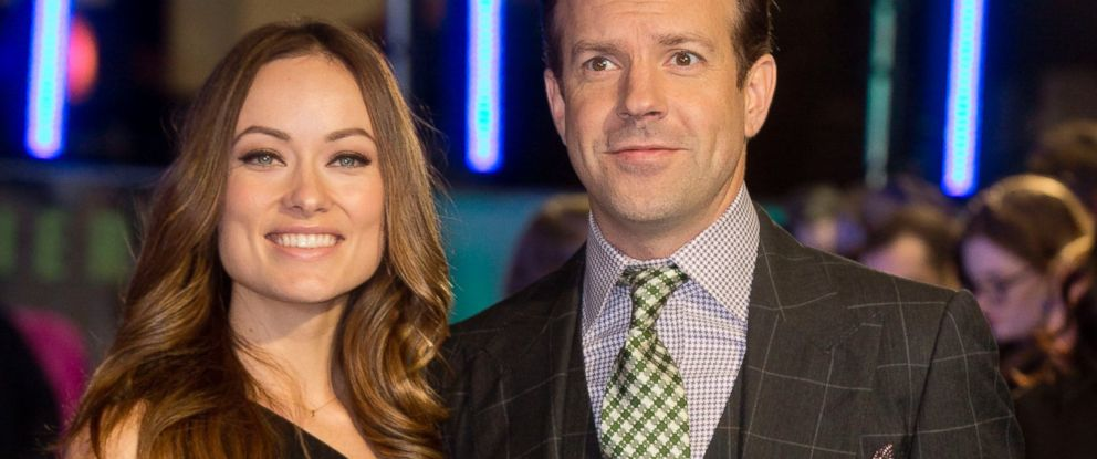 """PHOTO: Olivia Wilde and Jason Sudeikis attends the UK Premiere of """"Horrible Bosses 2"""" at Odeon West End, Nov. 12, 2014 in London."""