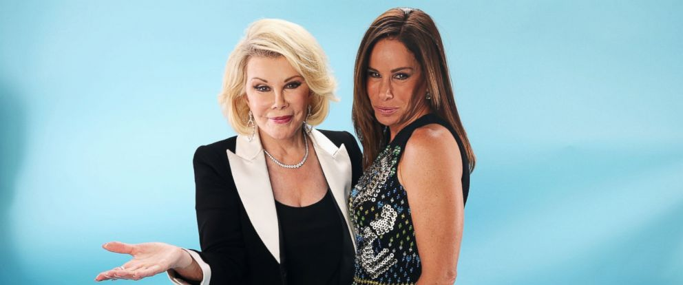 PHOTO: Joan Rivers and Melissa Rivers pose for a portrait at the DoSomething.org and VH1s 2013 Do Something Awards at Avalon in this July 31, 2013 file photo in Hollywood, Calif.