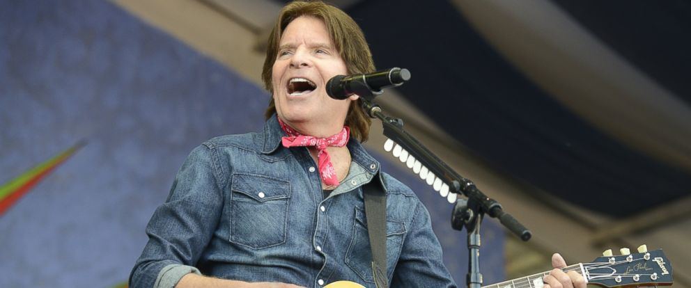 PHOTO: NEW ORLEANS, LA - MAY 04: John Fogerty performs during Day 7 of the 2014 New Orleans Jazz & Heritage Festival at Fair Grounds Race Course on May 4, 2014 in New Orleans, Louisiana.